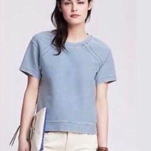 Banana Republic Denim Short Sleeve Shirt